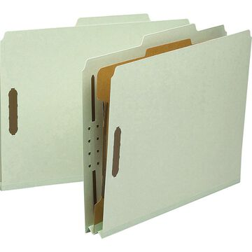 Smead 100% Recycled Pressboard Colored Classification Folders - Letter - 8 1/2