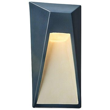 Justice Design Group Ambiance Vertice LED Wall Sconce - Color: Green - CER-5680-PATV