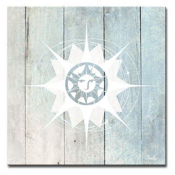 Ready2HangArt Inspirational 'Sun Star IV' Wrapped Canvas Wall Art