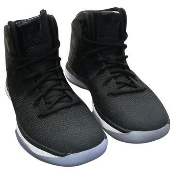 Jordan Black Patent leather Trainers
