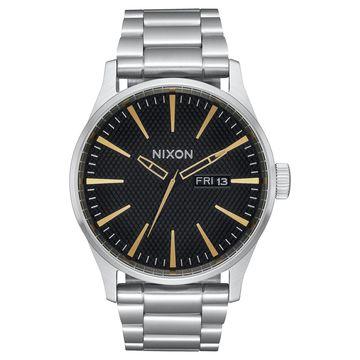 Men's Sentry Stainless Steel Bracelet Watch 42mm A356