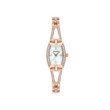 Armitron Womens Rose Goldtone Bracelet Watch-75/5502mprg
