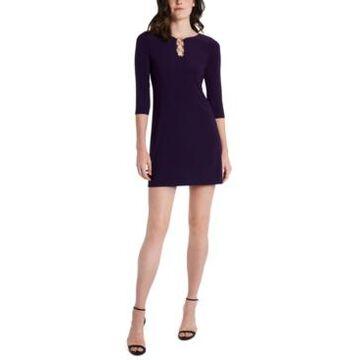 Msk Three-Ring Shift Dress