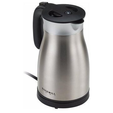 Stainless Steel Electric Kettle 1.7L Vacuum Insulated Water Boiler 1500W