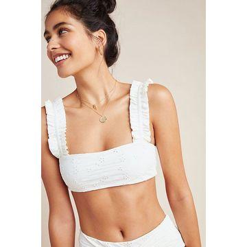 Onia Eyelet Como Bikini Top