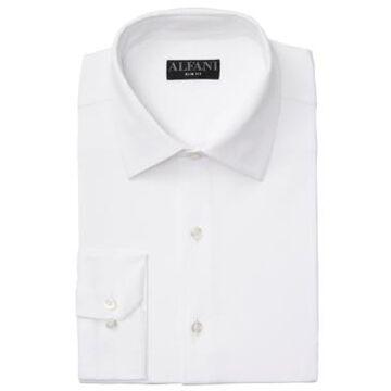Alfani Men's Slim-Fit 4-Way Performance Stretch Wrinkle-Resistant Dress Shirt, Created for Macy's
