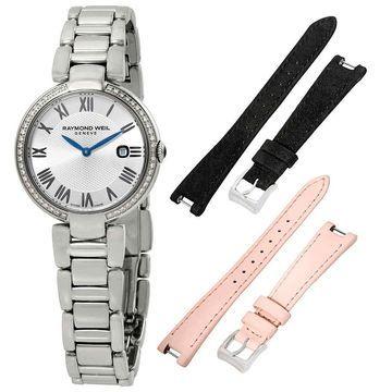 Raymond Weil Shine Etoile Dial Ladies Diamond Watch 1600-STS-RE659