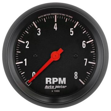AutoMeter 2699 Z-Series In-Dash Electric Tachometer * NEW *
