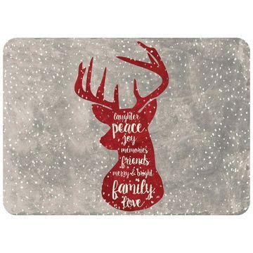 Bungalow Flooring Christmas Deer Premium Comfort Mat - 22