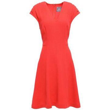 Lela Rose Flared Crepe Dress