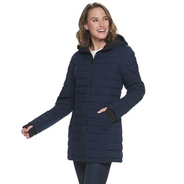 Women's ZeroXposur Geneva Quilted Stretch Puffer Coat