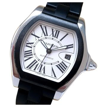 Cartier Roadster White Steel Watches