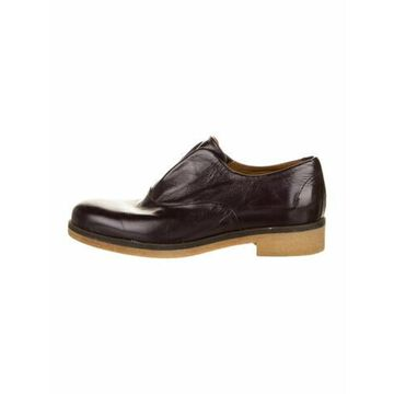 Patent Leather Oxfords Purple