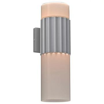 PLC Lighting 2-Light Outdoor Fixture Wallyx Collection 31742SL