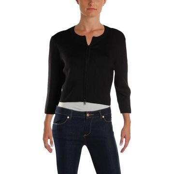 Narciso Rodriguez Womens Cardigan Top Cropped Silk - 44