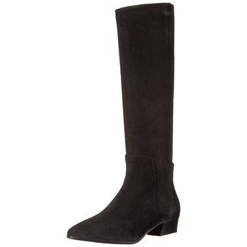 Aquatalia Womens Federica Suede Pointed Toe Knee High Fashion Boots