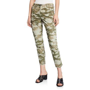 Slim-Fit Camo Cargo Pants