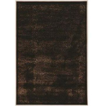 Linon Vintage Collection Illusion Rug (9' x 12' - Brown)