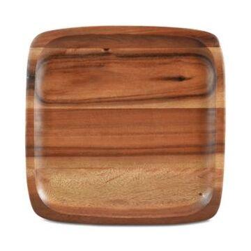 Noritake Serveware, Kona Wood Square Plate