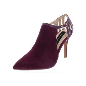 Steven By Steve Madden Womens Amya Pumps Suede Pointed Toe