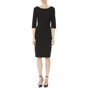 Carolina Herrera 3/4-Sleeve Dress