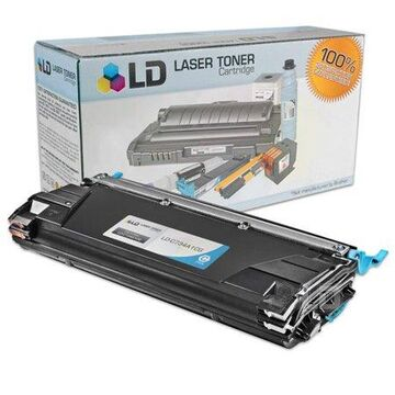 LD Products Compatible Cyan Laser Toner Cartridge for Lexmark C734A1CG