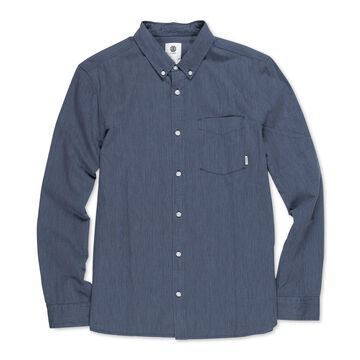 Element Mens Philly Striped Button Up Shirt