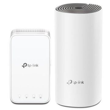 TP-LINK AC1200 Whole Home Mesh Wi-Fi System | 1 Router Plus Extender | Covers Up To 2,500 Sq Ft. (Deco E3)
