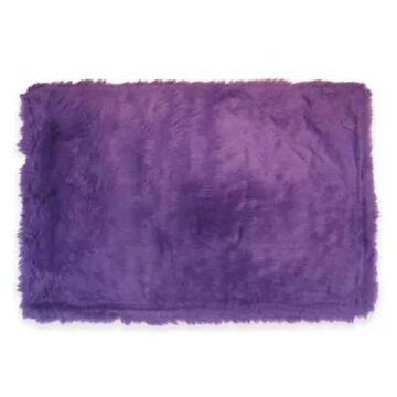 Fun Rugs 2-Foot 7-Inch X 3-Foot 11-Inch Flokati Rug In Purple