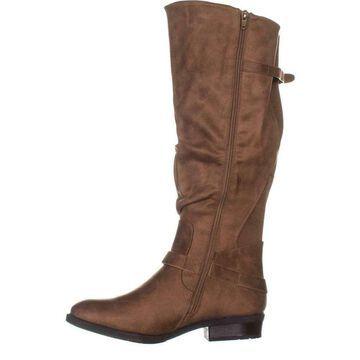 Bare Traps Womens Yanessa2 Closed Toe Knee High Fashion Boots