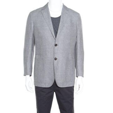 Ermenegildo Zegna Crossover Grey Tailored Blazer L