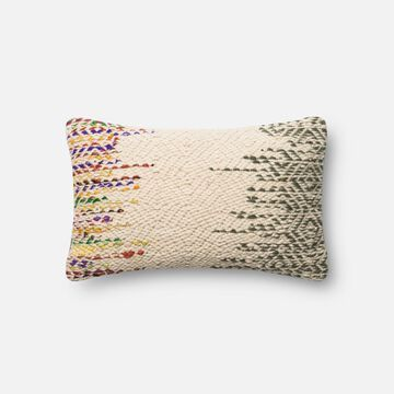 PSETP0282ML00PIL5 13 x 21 in. Decorative Poly Filled Pillow with Cover, Multicolor