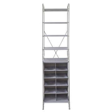 neatfreak Versa System 4 Shelf + 10 Cubby, Grey