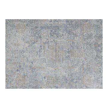 Couristan Couture Bordado Light Gray-Multicolor Area Rug, Grey, 8X11 Ft