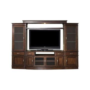 Liberty Furniture Hanover Entertainment Center With Piers