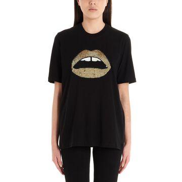 Markus Lupfer sequin Lara Lip T-shirt