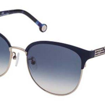 Carolina Herrera SHE119 0492 Men's Sunglasses Gold Size 56