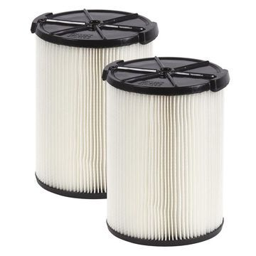 RIDGID Wet Dry Shop Vacuum Filter 2 Pack Filters Vac Replacement Accessories New