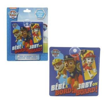 Nickelodeon 2328435 Paw Patrol Baby on Board Sign, Multi Color - Case of 48