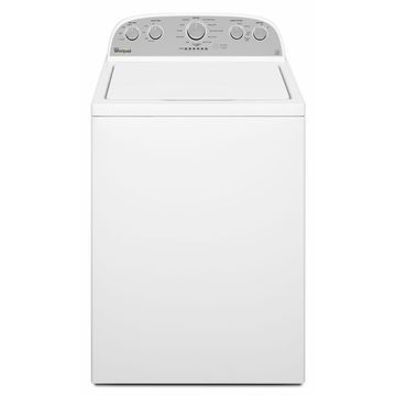 Whirlpool 4.3-Cu.-Ft. High-Efficiency Top-Load Washer - White