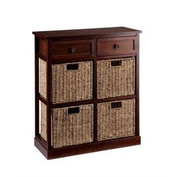Southern Enterprises Caldwell 4-Basket Storage Chest