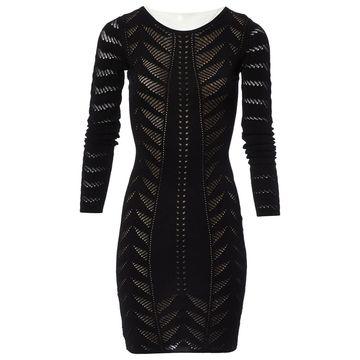 Temperley London Black Viscose Dresses