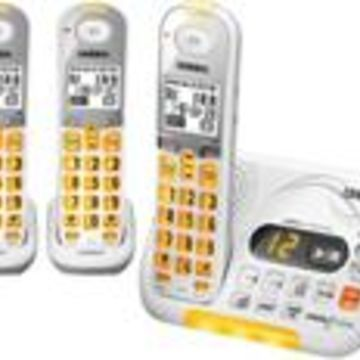 Uniden D3097-3 DECT 6.0 Amplified Cordless Phone w/ 2 Extra Handsets