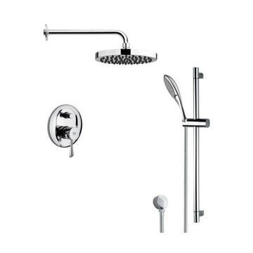 Nameeks SFR7143 Remer Single Handle Shower System Faucet, Chrome