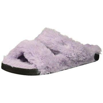 Dearfoams Women's Double Strap Slide Slipper - Large