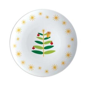 Rachael Ray Holiday Hoot Round Platter