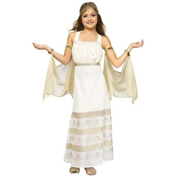 Fun World Golden Goddess Child Costume-Small