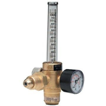 Western Enterprises REF Series Flowmeter Regulators, Argon, CGA 580, 3,000 psi inlet