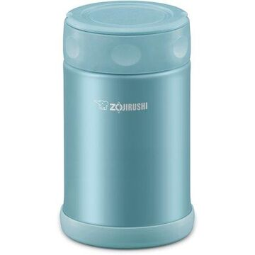 Zojirushi Stainless Steel Food Jar Aqua Blue 0.5L SW-EAE50AB
