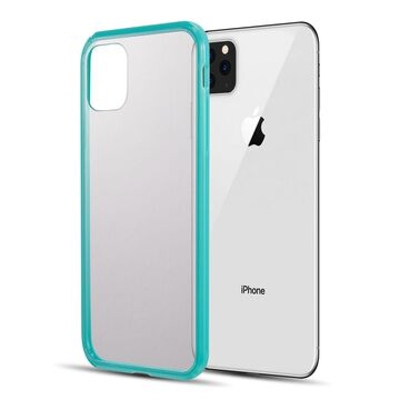 iPhone 11 MAX Case, by Insten Fusion Candy Acrylic Transparent Case Cover For Apple iPhone 11 MAX - Green